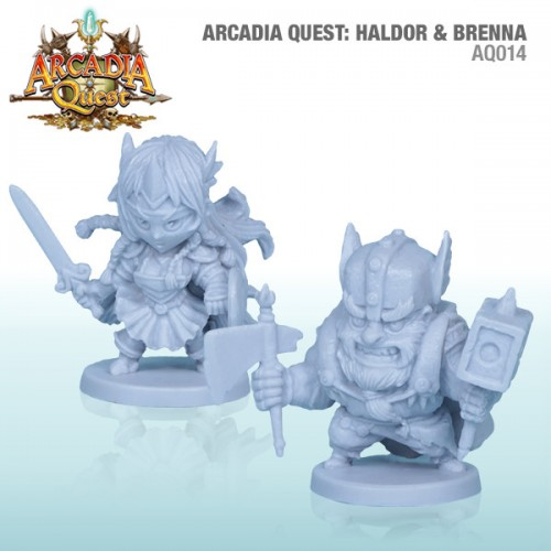 Arcadia Quest: Haldor and Brenna