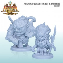 Arcadia Quest: Tiaret and Mittens