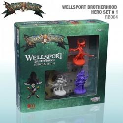 Rum & Bones: Wellsport Brotherhood Heroes Set #1