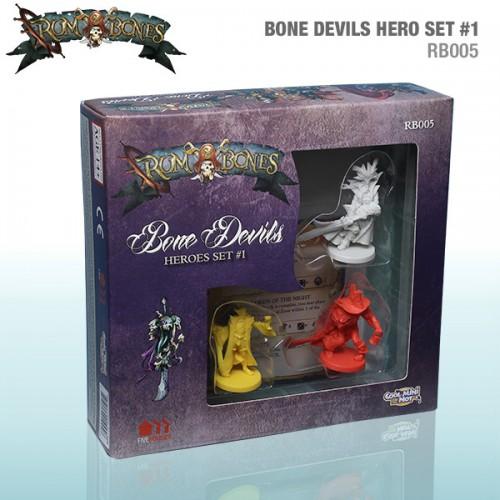 Rum & Bones: Bone Devils Heroes Set #1