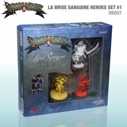Rum & Bones: La Brise Sanguine Heroes Set #1