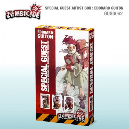 Zombicide: Special Guest Artist Box: Edouard Guiton
