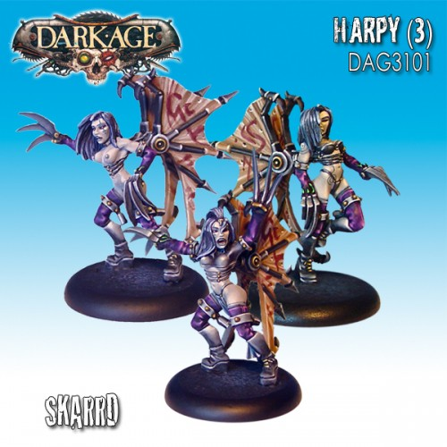 Skarrd Grafted Harpies (3)