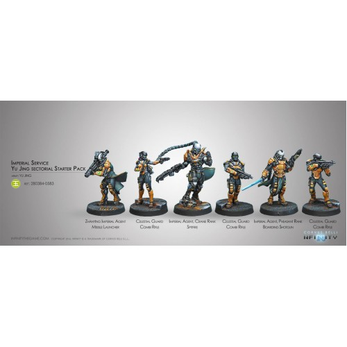 The Imperial Service, Yu Jing Sectorial Starter Pack