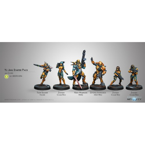 Yu Jing - Starter Pack (New Sculpt)