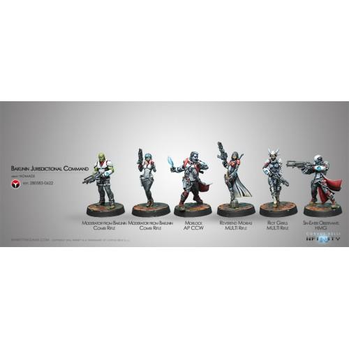 Bakunin Jurisdictional Command Nomads Sectorial Starter Pack