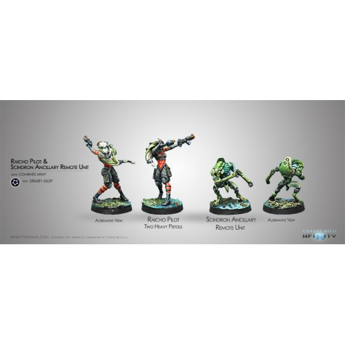 Raicho Pilot and Scindron - Combined Army Tag Pilots Set