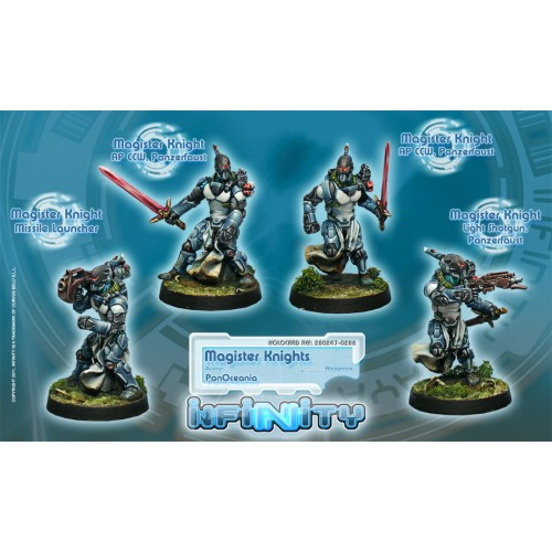 Magister Knights Unit Box