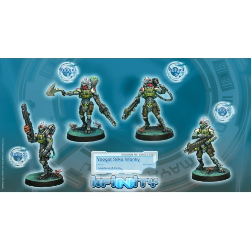 Yaogat Strike Infantry Unit Box (4)