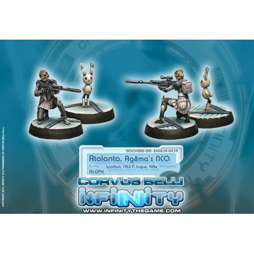 Atalanta, Agema's NCO & Spotbot