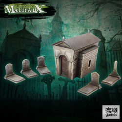 Malifaux Terrain: Graveyard Set