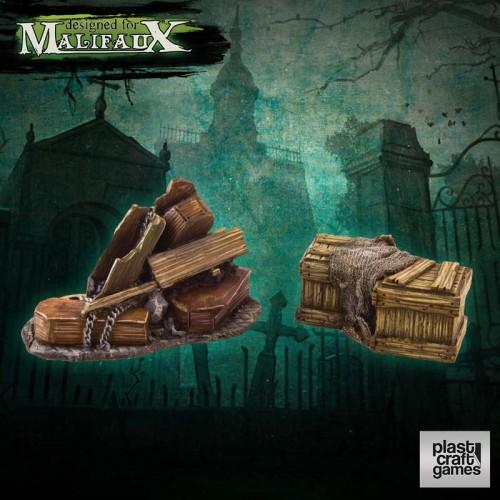 Malifaux Terrain: Undertaker Props