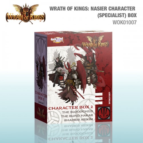 Nasier Character (Specialist) Box