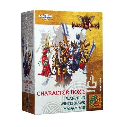 Shael Han Character (Leader) Box