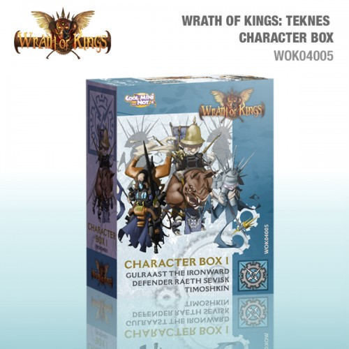 Teknes Character (Leader) Box