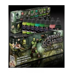 Fantasy and Games Orcs and Goblins Paint Set